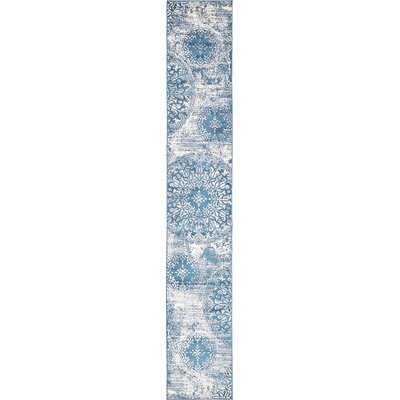 Brandt Blue Area Rug Rug Size: Runner 2 x 13