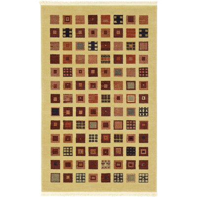 Soriano Beige Area Rug Rug Size: Rectangle 33 x 53