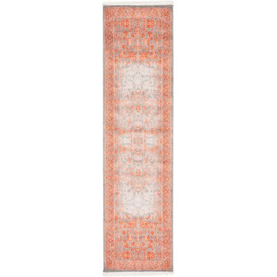 Colebrook Terracotta Area Rug Rug Size: Runner 27 x 10