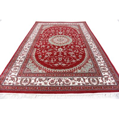 Jazlyn Red Area Rug
