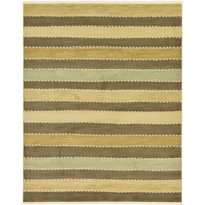 Langham Brown Area Rug Rug Size: 67 x 67