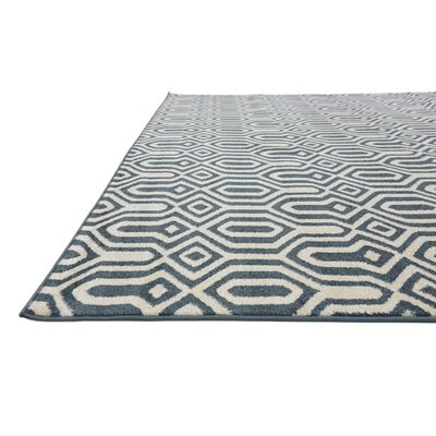 Seattle Navy Blue Area Rug Rug Size: 5 x 8