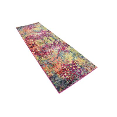 Massaoud Multicolor Area Rug Rug Size: Runner 2 x 6