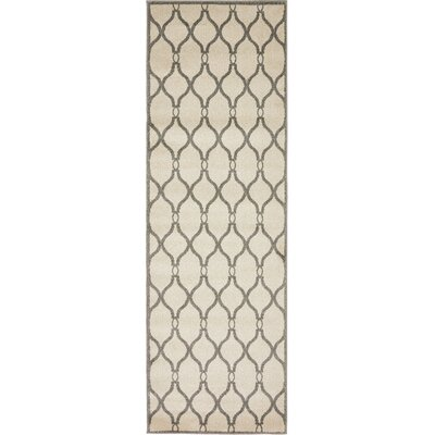 Molly Beige Area Rug Rug Size: Runner 27 x 10