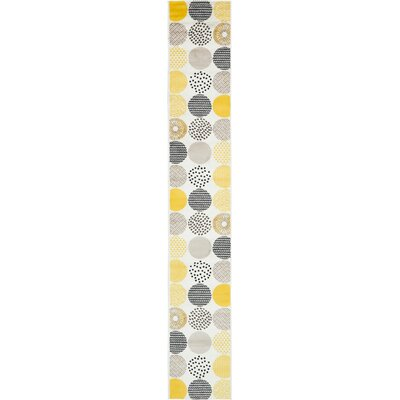 Maryrose Cream Area Rug Rug Size: Runner 2 x 13