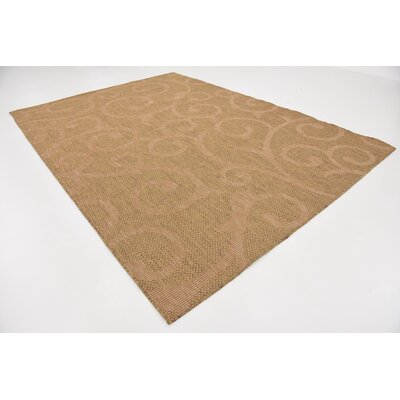Reithofer-Taylor Brown Outdoor Area Rug Rug Size: Rectangle 8 x 114