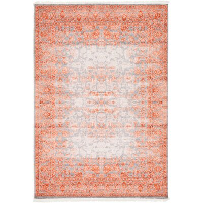 Colebrook Terracotta Area Rug Rug Size: 7 x 10