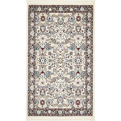 Courtright Area Rug Rug Size: 3 x 5