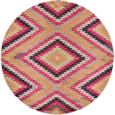 Phillips Area Rug Rug Size: Round 6