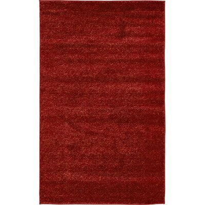 St Philips Marsh Red Area Rug Rug Size: 5 x 8