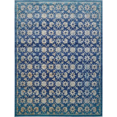 Geleen Blue Area Rug Rug Size: Rectangle 8 x 114