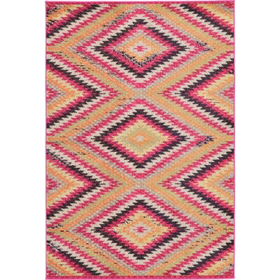 Phillips Area Rug Rug Size: 4 x 6