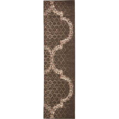 Steinbeck Brown Area Rug Rug Size: Runner 27 x 10