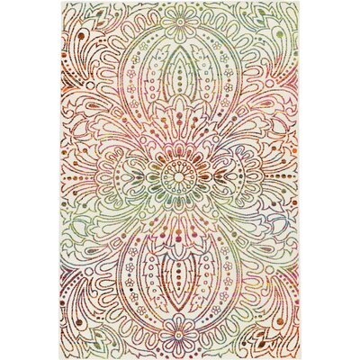 Joshi Ivory Area Rug Rug Size: Rectangle 5 x 8