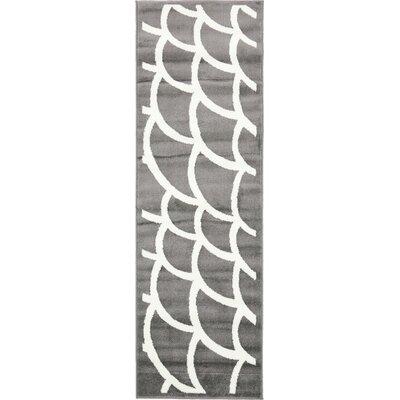 Sidney Gray Area Rug Rug Size: Runner 2 x 67