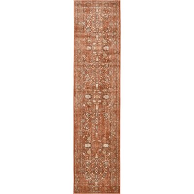 Geleen Brown Area Rug Rug Size: Runner 3 x 13