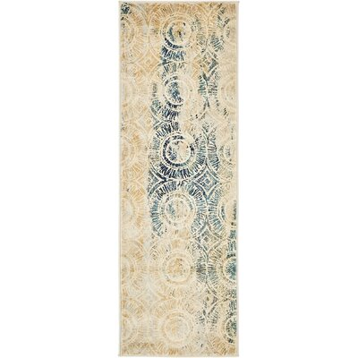 Jani Traditional Beige Area Rug Rug Size: Runner 2 x 6