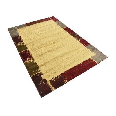 Jaidan Cream Area Rug Rug Size: Rectangle 4 x 6
