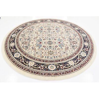 Courtright Area Rug Rug Size: Round 10