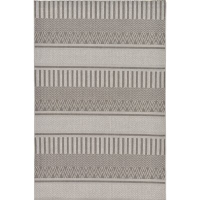 Kearney Dark Gray Indoor/Outdoor Area Rug Rug Size: Rectangle 5 x 61