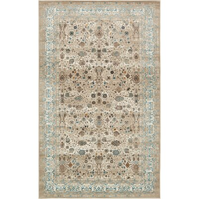 Miara Cream Area Rug Rug Size: Rectangle 102 x 135