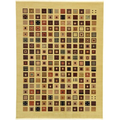 Soriano Beige Area Rug Rug Size: Rectangle 9 x 12