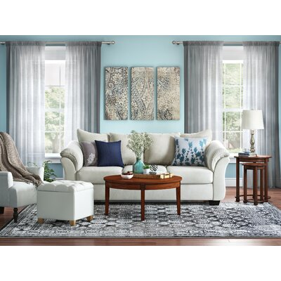 Broadview Gray Area Rug Rug Size: Rectangle 78 x 106