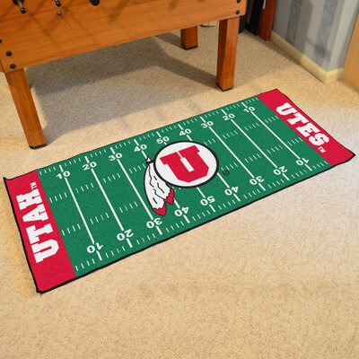 NCAA University of Utah Football Field Runner