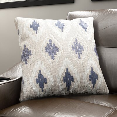 Eliana Pillow Cover Color: Blue