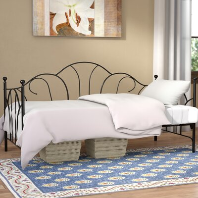 Crenshaw Metal Daybed Color: Black