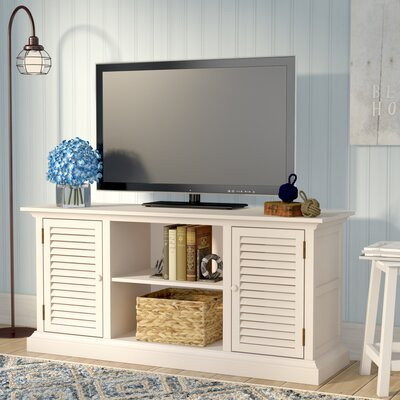 Tidbury 52 TV Stand Color: Antique White