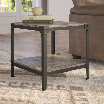Arboleda Rustic Wood End Table Finish: Driftwood