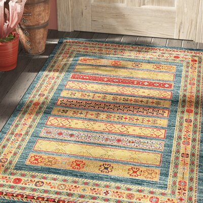 Foret Noire Machine Woven Red Area Rug Rug Size: Rectangle 6 x 9