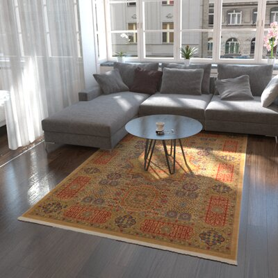Laurelwood Beige Area Rug Rug Size: Rectangle 106 x 165