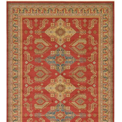 Valley Red Area Rug Rug Size: Rectangle 122 x 16