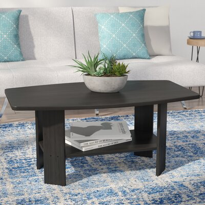 Castlewood Coffee Table Finish: Dark Brown Wood Grain
