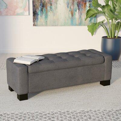 Kramer Storage Ottoman Upholstery: Charcoal
