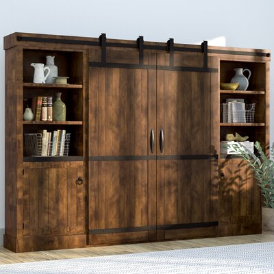 Brayton Entertainment Center Color: Dark Chocolate