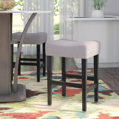 Ingleside 25 Bar Stool Upholstery: Beige