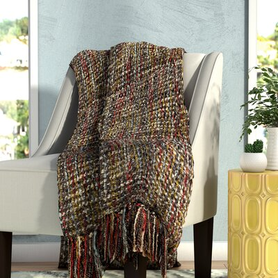Judith Woven Throw Blanket Color: Multi