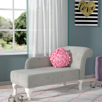 Leslie Juvenile Chaise Lounge Color: Dove Gray