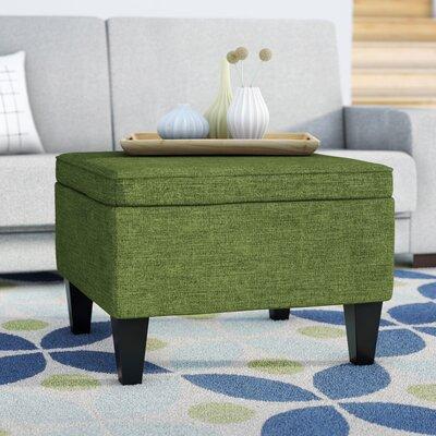 Perseus Storage Ottoman Upholstery: Apple Linen