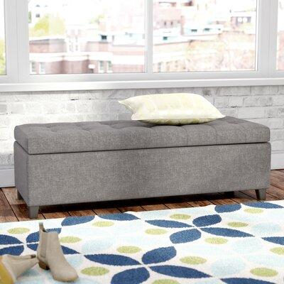 Morrisey Storage Ottoman Upholstery: Light Gray