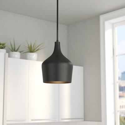 Knoxville 1-Light Mini Pendant Finish: Oil Rubbed Bronze