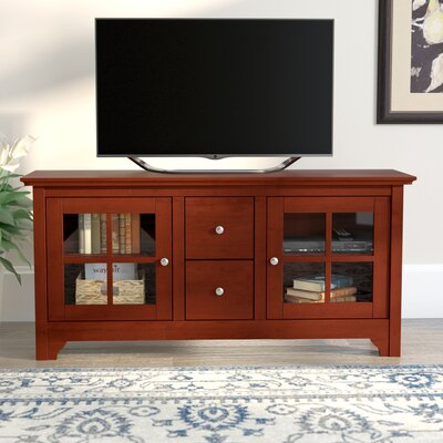 "Poulson 53"" TV Stand Color: Walnut Brown DBHC5534 27433752"