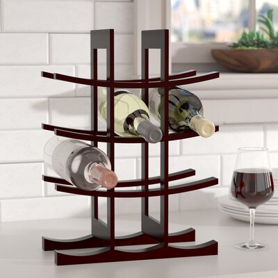 12 Bottle Tabletop Wine Rack Finish: Dark Espresso