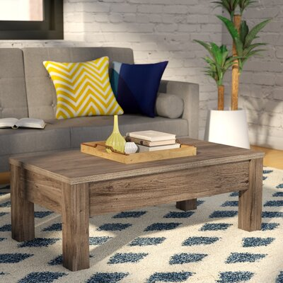Mansour Coffee Table with Lift Top Color: Dark Sonoma