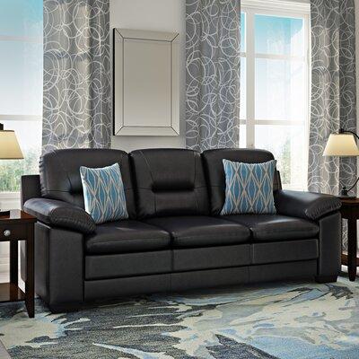 Brentry Sofa Upholstery: Black