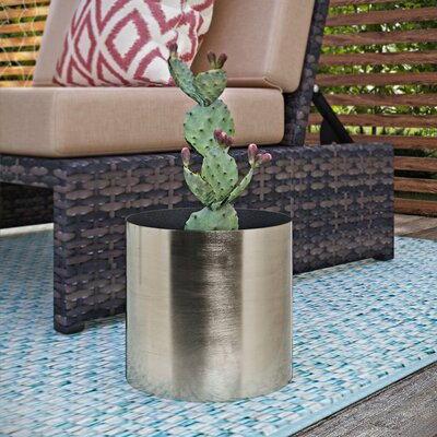 Eiland Metal Pot Planter Size: 7
