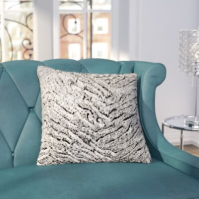 Nathon Pillow Cover Size: 22 x 22, Color: Gray/Neutral